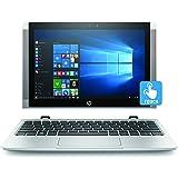 HP x2 10-p000na Detachable Laptop (10.1 inch, Touch-Screen, Intel Atom x5-Z8350, 2 GB RAM, 32 GB eMMC, Windows 10) - Natural Silver
