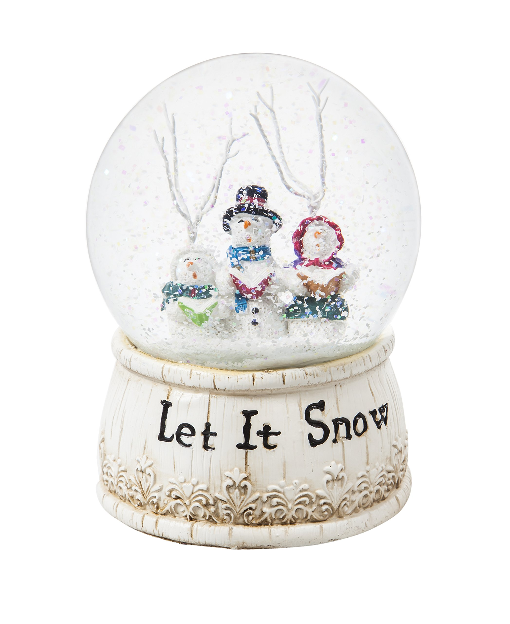 Cypress Home Let It Snow Choir Musical Snow Globe