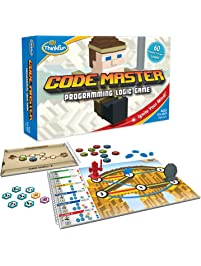 ThinkFun Code Master Programming Logic Game and STEM Toy – Teaches Programming Skills Through Fun Gameplay