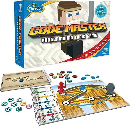 ThinkFun Code Master Programming Logic Game and STEM Toy - Teaches Programming Skills Through Fun Gameplay