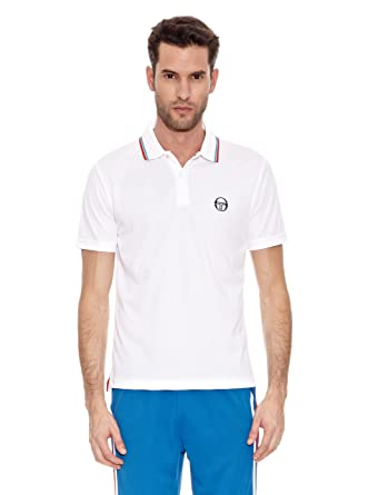 Sergio Tacchini Polo Balto Polo Balto Blanco M: Amazon.es: Ropa y ...