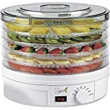 SPICE TESEKO essiccatore disidratatore per alimenti 5 scomparti temperatura regolabile 35-70 gradi