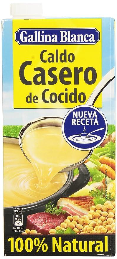 Gallina Blanca - Caldo casero de cocido - 100% Natural - 1 l ...
