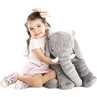 Uncle Kal Exclusivo Elefante de Peluche Gigante 63.5 cm   Diseñado en Suecia   Satisfacción Garantizada   Juguetes para Bebe, Niños y Niñas, Perfectos para Regalar  