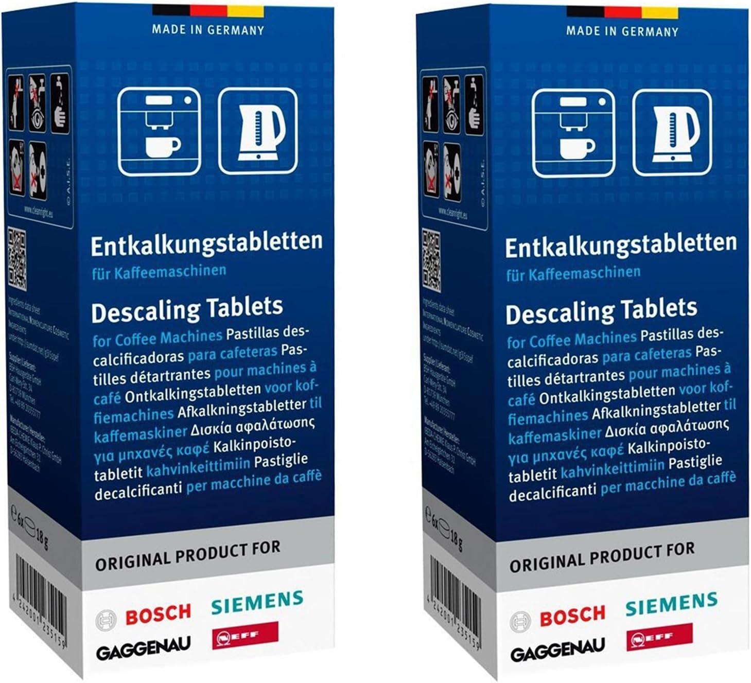 Bosch 310575 machine à café nettoyage tablettes-pack de 10