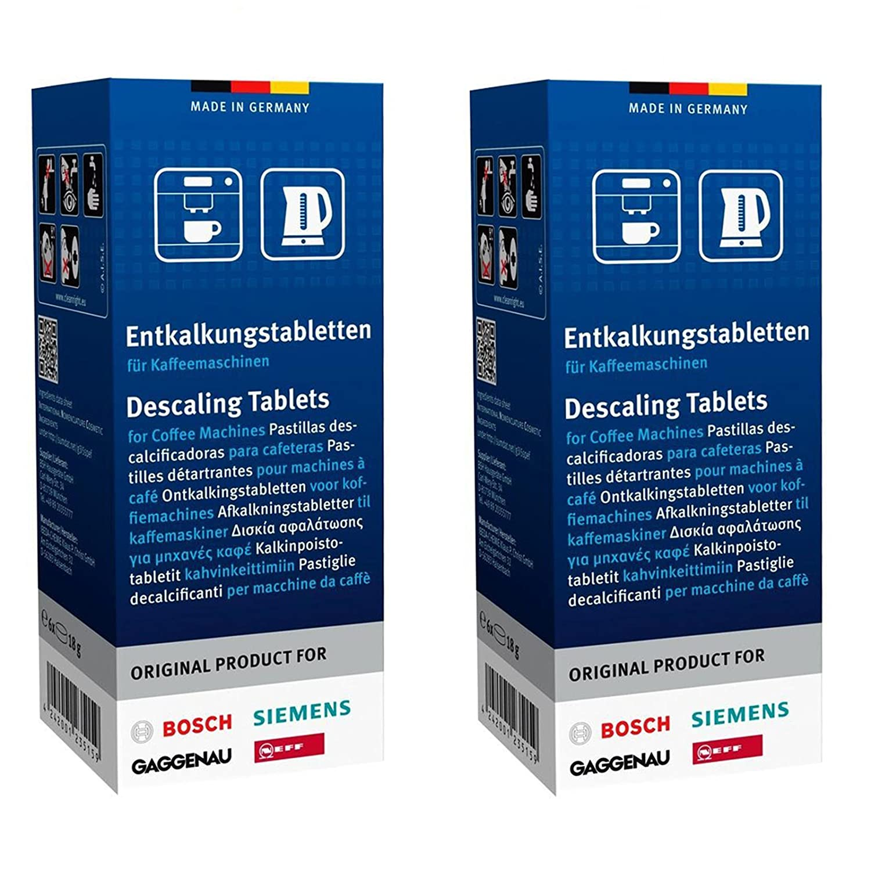 Bosch Tassimo máquina de café Descalcificador Tablets (2 cajas de 6 tabletas): Amazon.es: Hogar