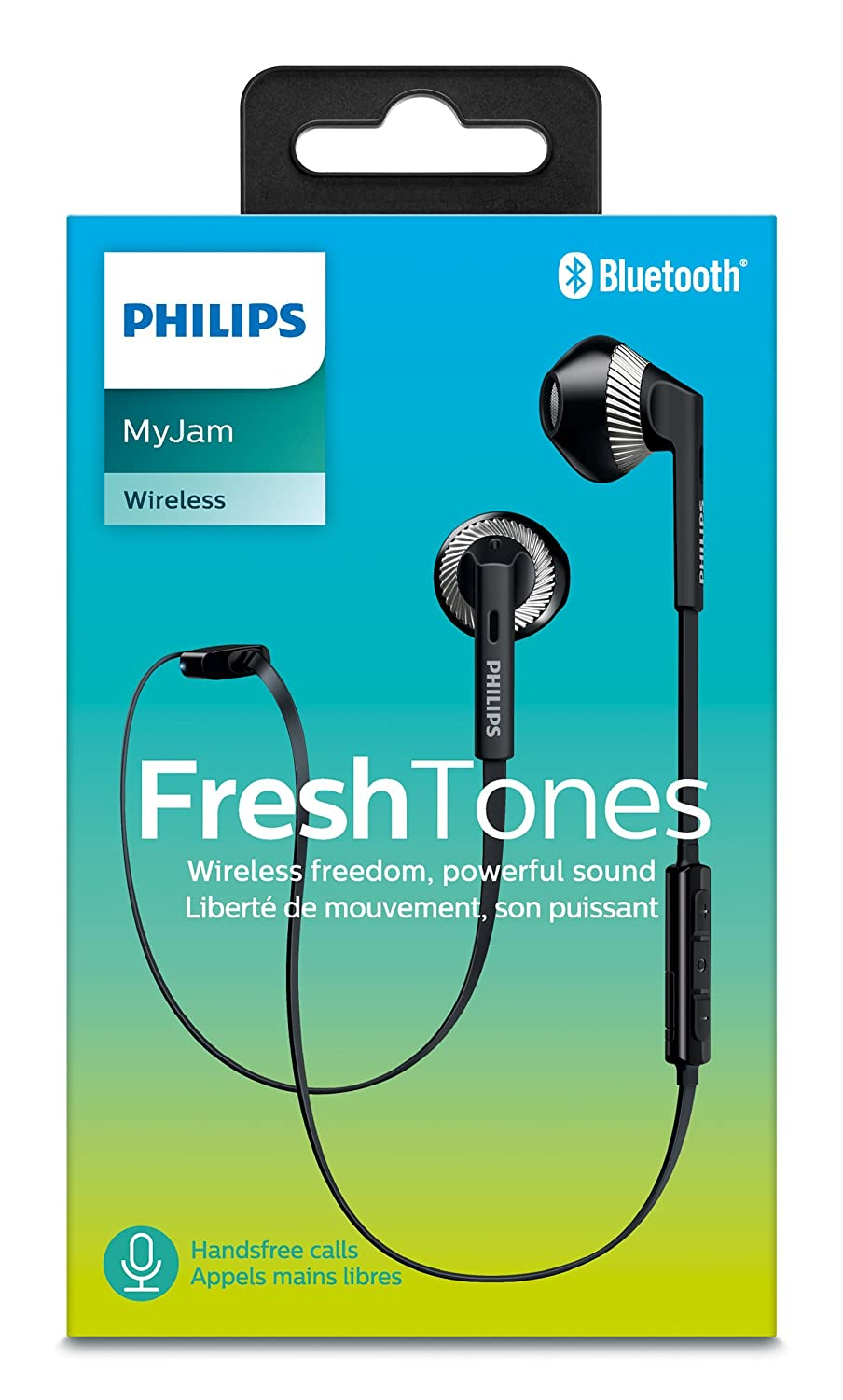 Philips SHB5250BK Wireless Bluetooth Earphones with: Amazon.co.uk ...