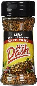 Mrs. Dash STEAK GRILLING BLEND Salt-Free Seasoning 2.5oz (2-pack)