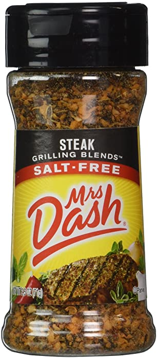 Mrs. Dash STEAK GRILLING BLEND Salt-Free Seasoning 2.5oz (2-pack)