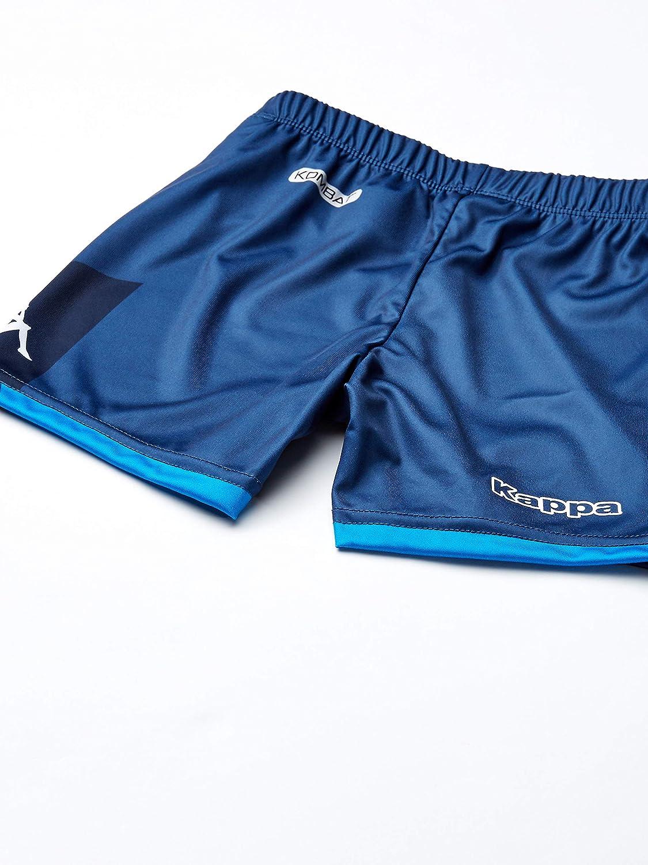 Blue Ssc Napoli Italian Serie A Junior Away Goalkeeper Match Kit 8 Years