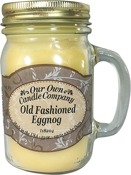 Our Own Candle Co Large 13oz Mason Jar Candles 100hr Burn Time 26 Fragrances