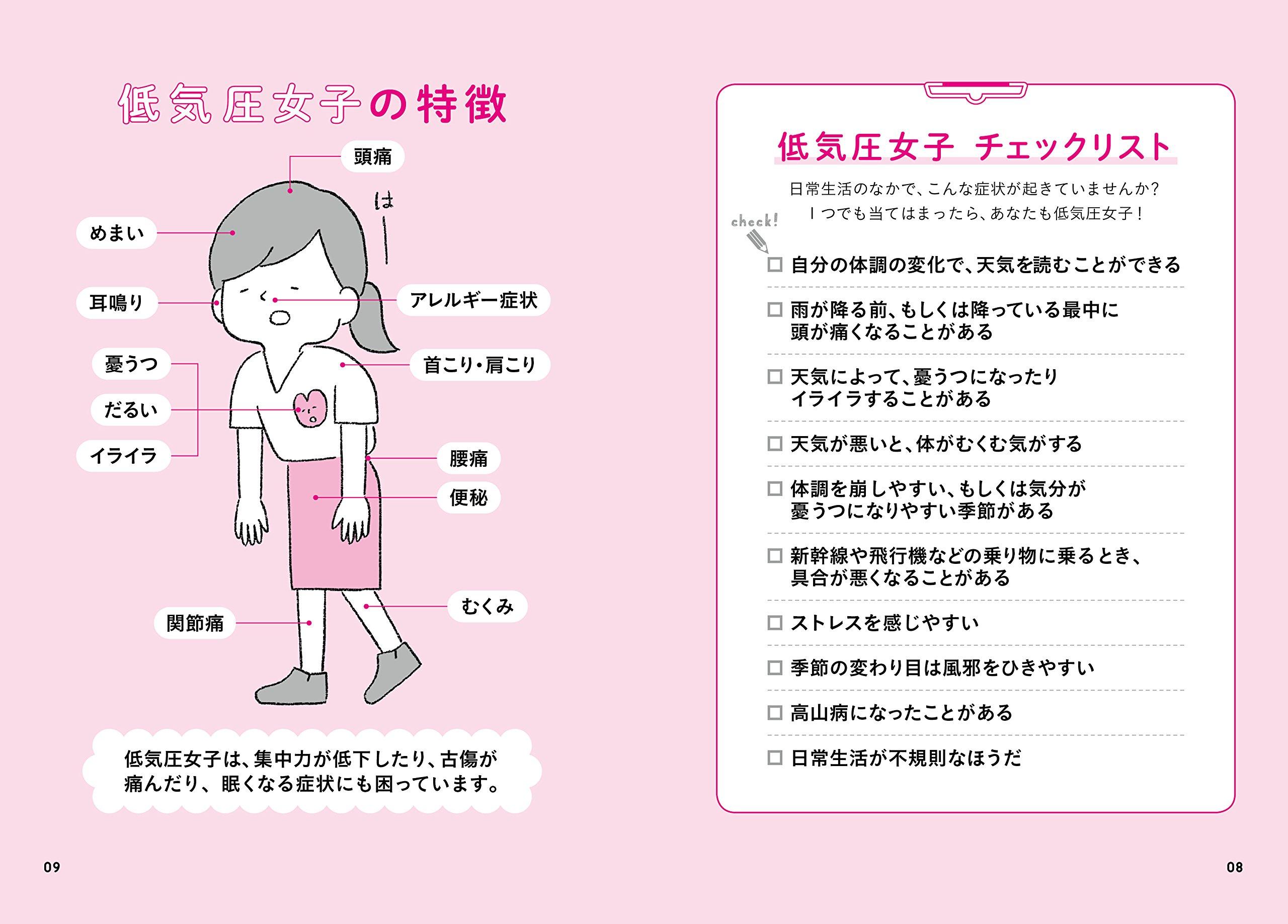 気圧 不良 低 体調 低気圧による体調不良…それって「気象病」かも! チェックリスト&対策を専門医が解説