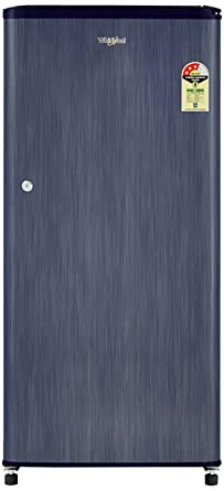 Whirlpool 190 L 3 Star Direct Cool Single Door Refrigerator(WDE 205 CLS Plus 3S, Sapphire Titanium)