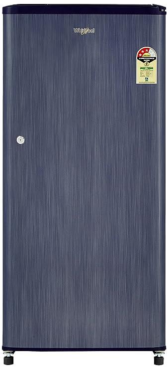 Whirlpool 190 L 3 Star Direct Cool Single Door Refrigerator WDE 205 CLS Plus 3S, Sapphire Titanium  Refrigerators