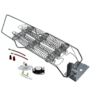 Supplying Demand 4391960 279769 3392519 Dryer Heating Element Kit Compatible With Whirlpool Fits AP6009347 4391960