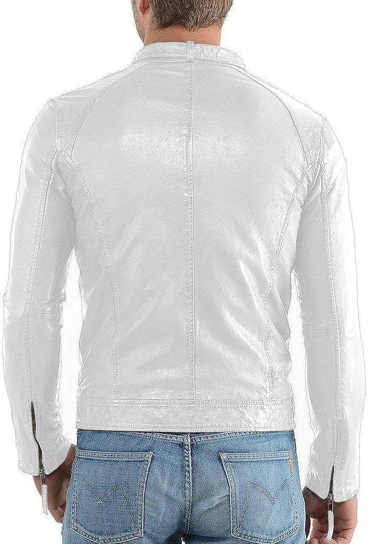 Black, Racer Jacket 1501647 Laverapelle Mens Genuine Lambskin Leather Jacket