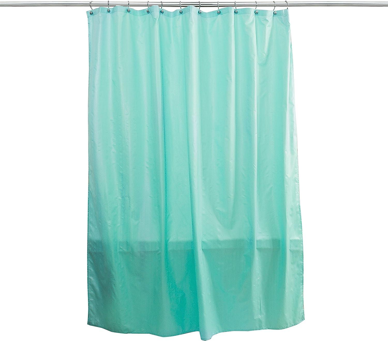 Splash Home Ascent Shower Curtain Liner, Fresh Blue