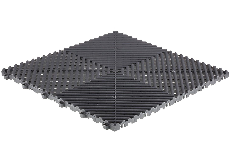 Amazon swisstrax a504000203 25 ribtrax modular flooring amazon swisstrax a504000203 25 ribtrax modular flooring tile slate grey pack of 25 automotive dailygadgetfo Choice Image