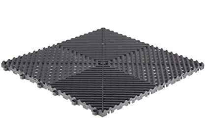 Amazoncom Swisstrax A Ribtrax Modular Flooring Tile - Traxtile flooring