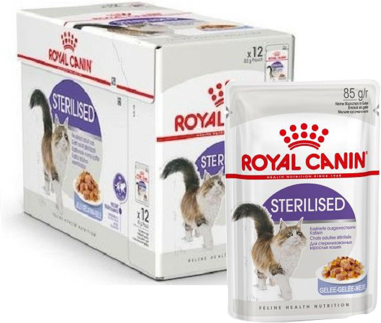Royal Canin - Bolsa para alimentos (48 x 85 g, esterilizada en ...