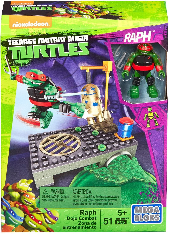 Teenage Mutant Ninja Turtle Mega Blocks Half-Shell Heroes Raph And Kraang