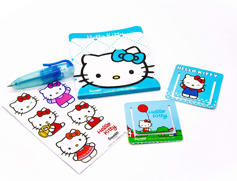 Hello Kitty Mini Sobre Sorpresa con pegatinas, bolígrafo, libreta ...