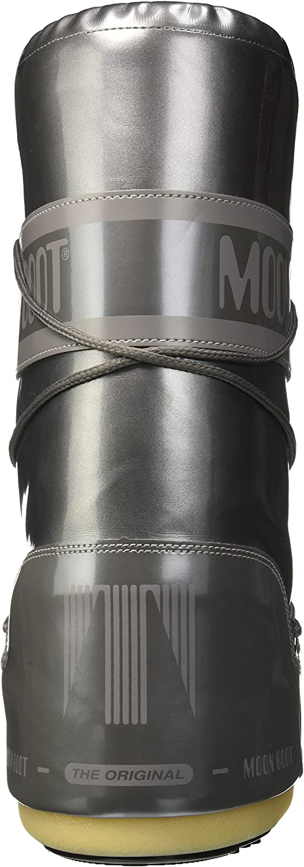 Moon-boot Vinil Met, Bottes de Neige Femme Argenté Argento 004