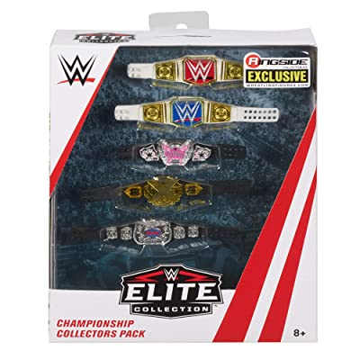 WWE Ringside Collectibles Championship Collectors Pack: Toys & Games