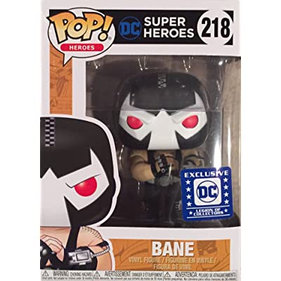 DC Superheroes - Bane Exclusive Vinyl Fifure: Toys & Games
