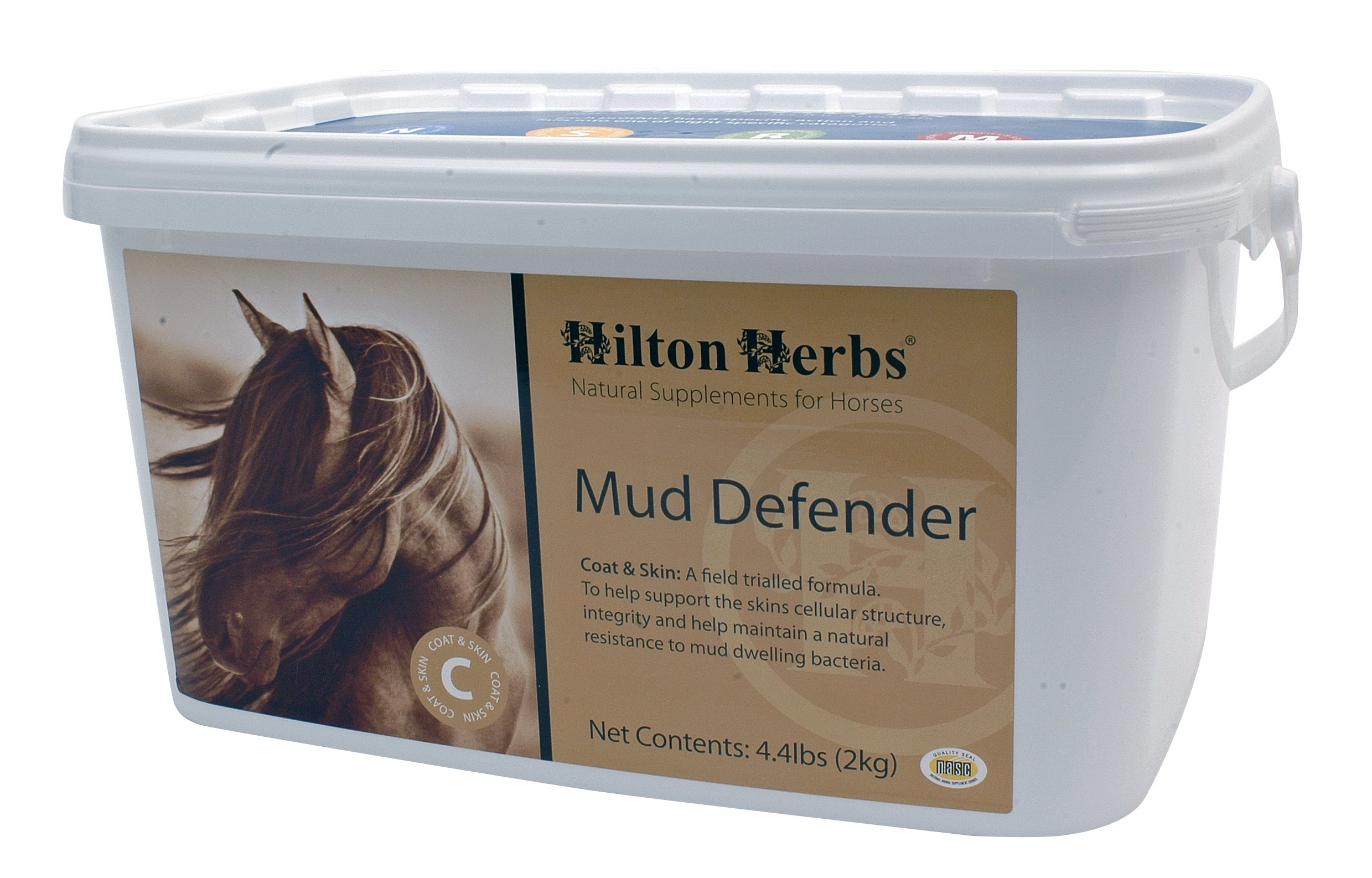 Hilton Herbs Mud Defender Tub Bacteria Resistant Support for Horses, 2kg Tub by Hilton Herbs (Image #1)