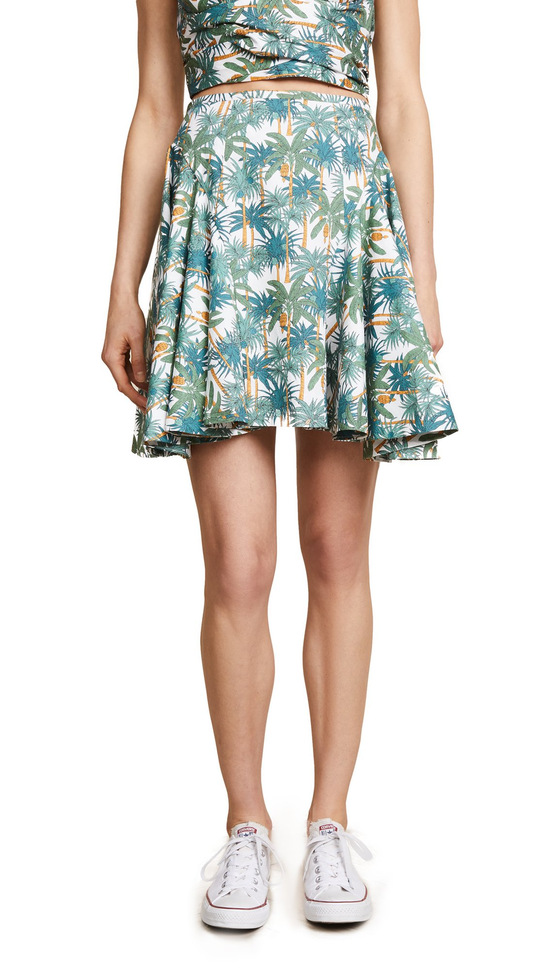 Petersyn Women's Brandy Skirt, Island Print, X-Small