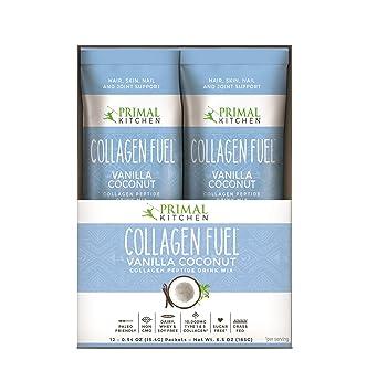 Amazon primal kitchen collagen fuel protein on the go packets primal kitchen collagen fuel protein on the go packets vanilla coconut 12 count malvernweather Choice Image