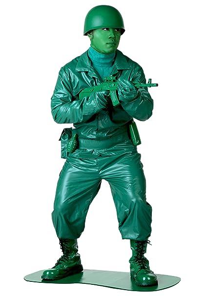 Amazon.com: Disfraz de soldado del ejército de plástico para ...