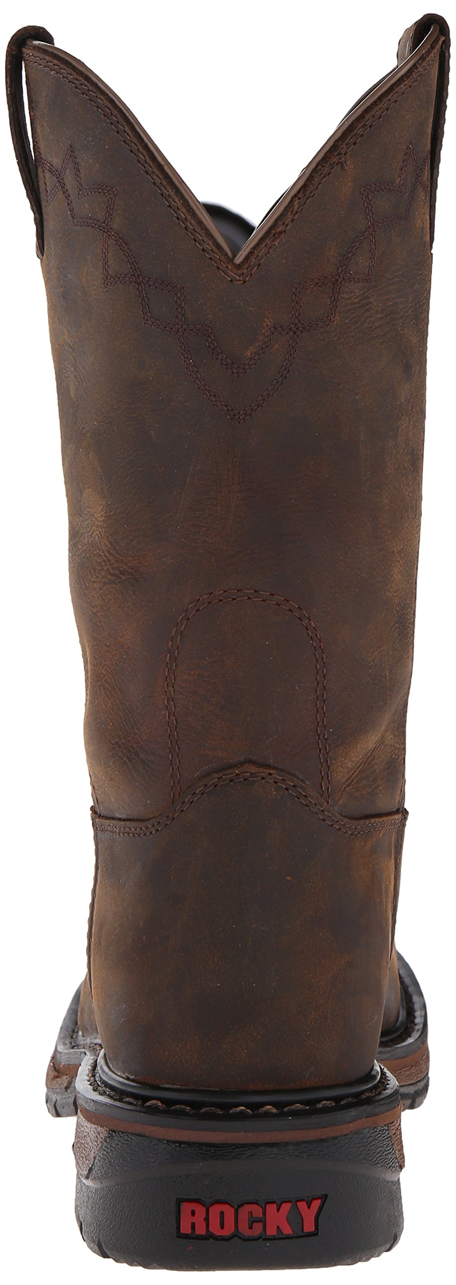 Rocky Men's RKW0117 Boot, Dark Brown, 10 M US by Rocky (Image #2)