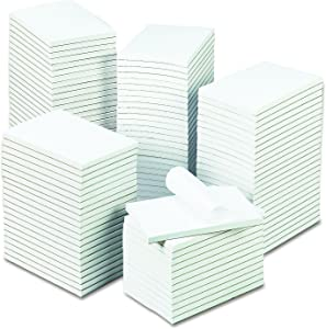 Universal 35624 Bulk Scratch Pads, Unruled, 4 x 6, White, 100 Sheet Pads (Case of 120 Pads)