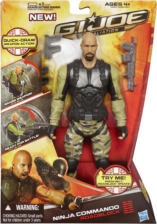 GI Joe Retaliation Ninja Commando Roadblock Figure