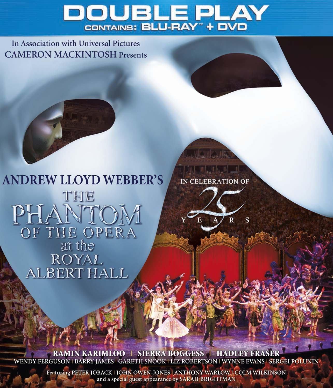 phantom 25th anniversary blu ray