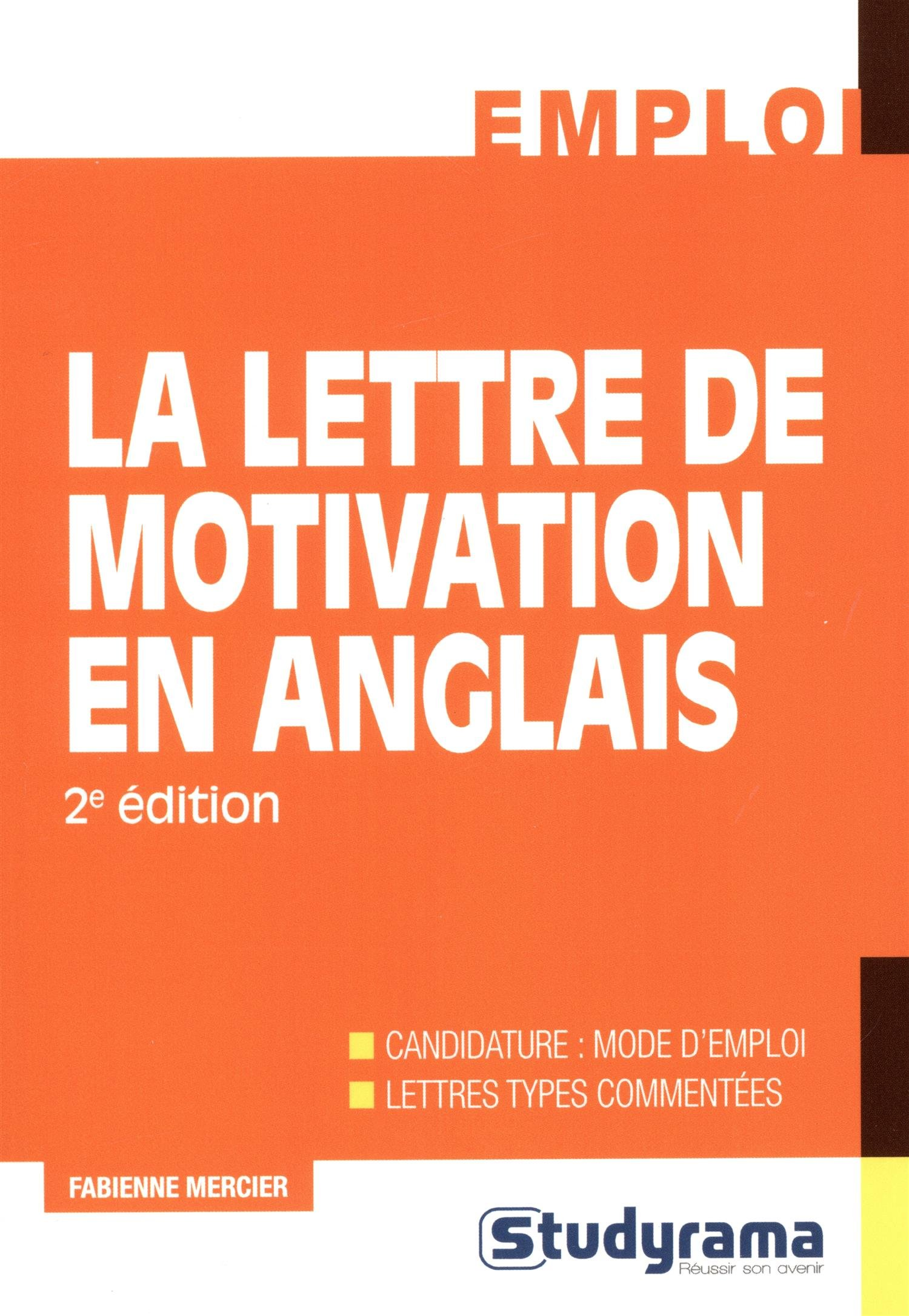 Amazon In Buy Lettre De Motivation En Anglais Deuxième