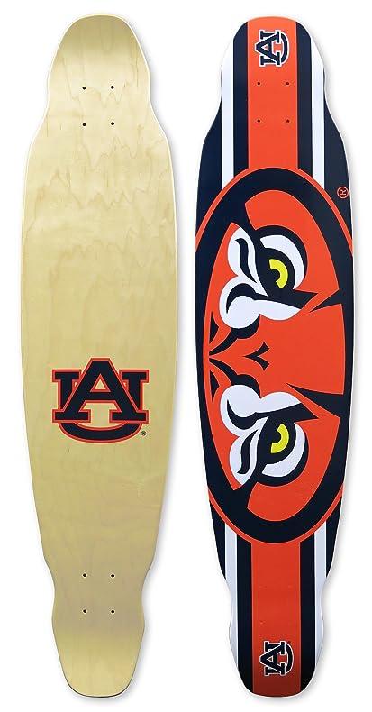 Amazon.com : Auburn University Longboard Skateboard Deck Auburn ...
