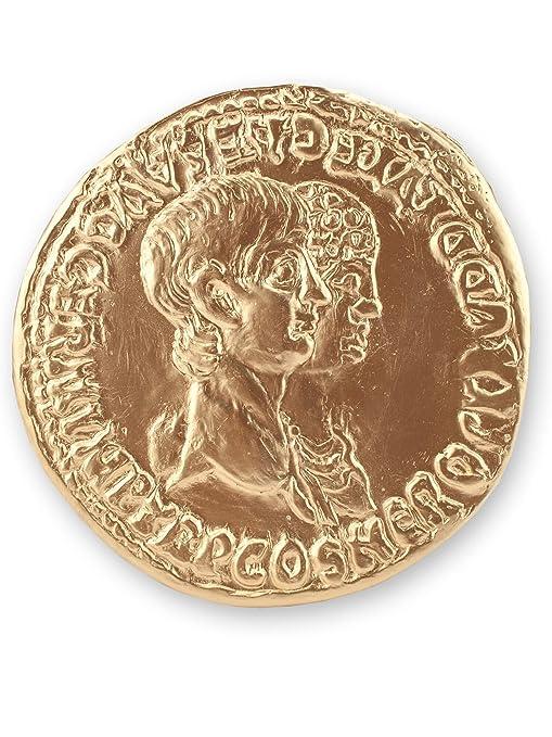 römische Replik Nero Agrippina altrömische Goldmünze Replikat Forum Traiani