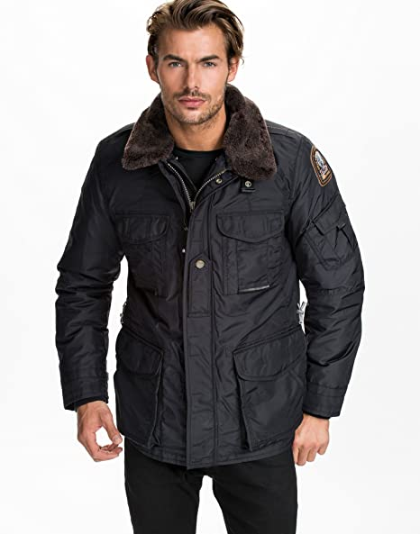 Parajumpers Men's MP Anthology Portland Navy Size X-Large 100% polyester. padding: Amazon.co.uk: Clothing
