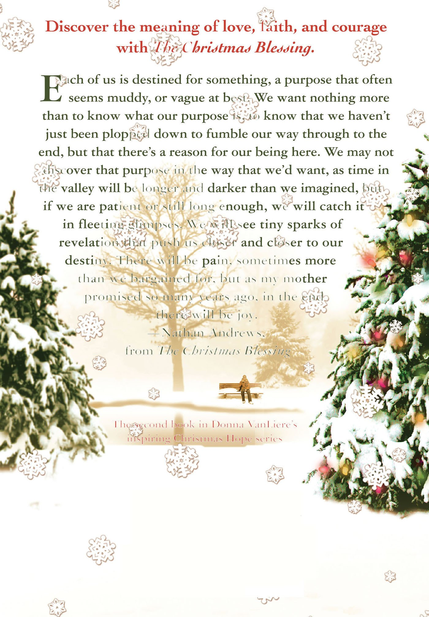 The Christmas Blessing (Christmas Hope Series #2): Donna VanLiere ...