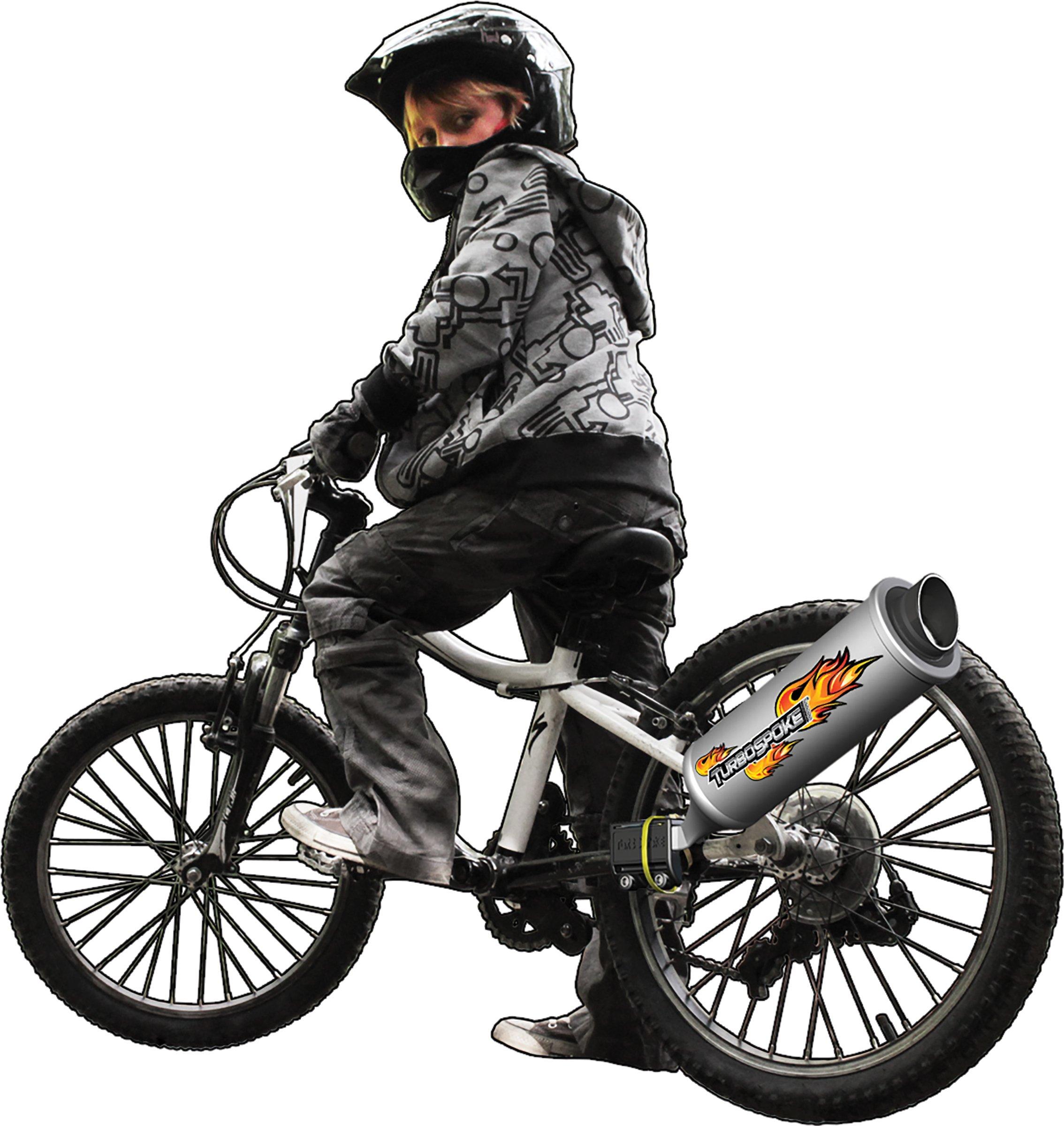 Turbospoke Bicycle Exhaust System (Original Updated) by Turbospoke (Image #5)