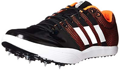 100% authentic a0953 8101b adidas Adizero lj Running Shoe, core Black, FTWR White, Orange, 10 M