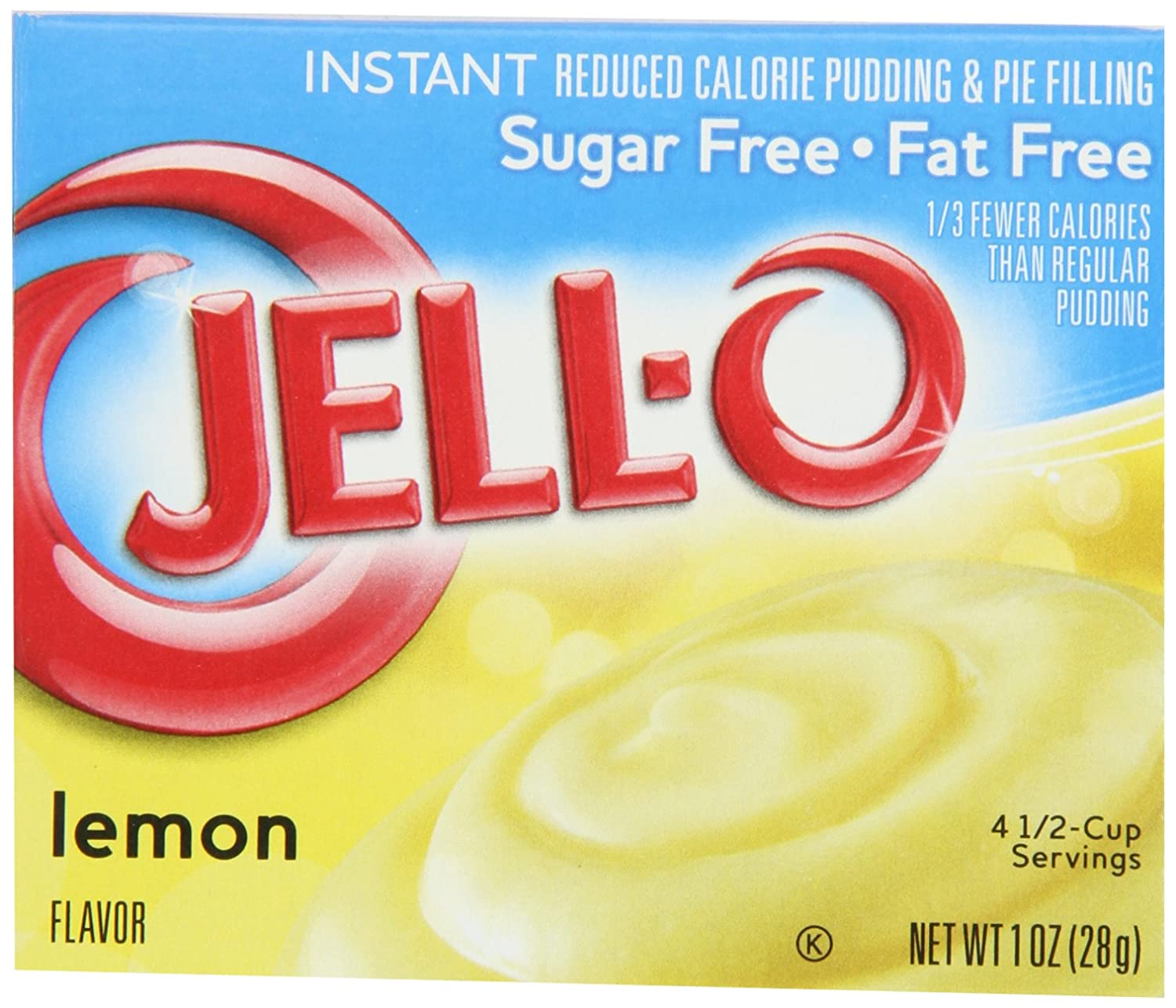Sugar Free  Lemon Instant Pudding & Pie Filling Mix