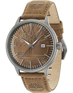 3b010e3914e1 Timberland Reloj Análogo clásico para Hombre de Cuarzo con Correa en Cuero  15260JSU 12
