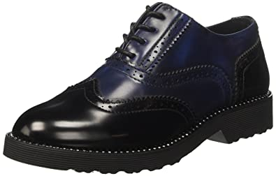102706271MF, Mocassins (Loafers) Femme, Bleu (Blu), 38 EUPrima Donna