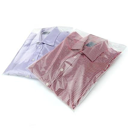 Hangerworld 30,5 x 40,5 cm Bolsas de plástico con autocierre para Camisas Ropa, 40 Unidades, Transparente