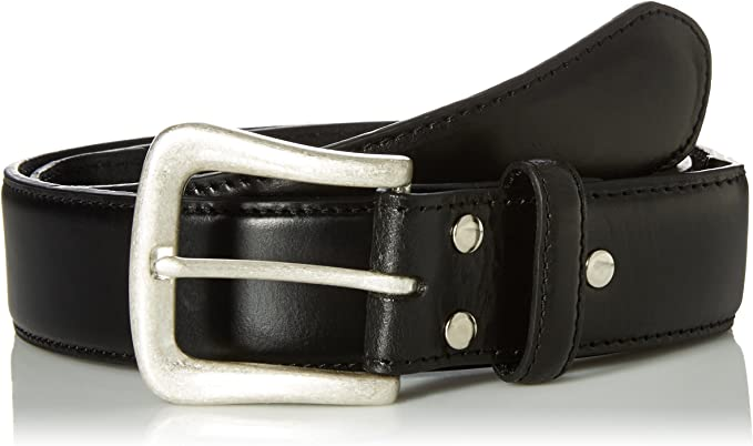 Nocona Mens Brown Point Billet Belt