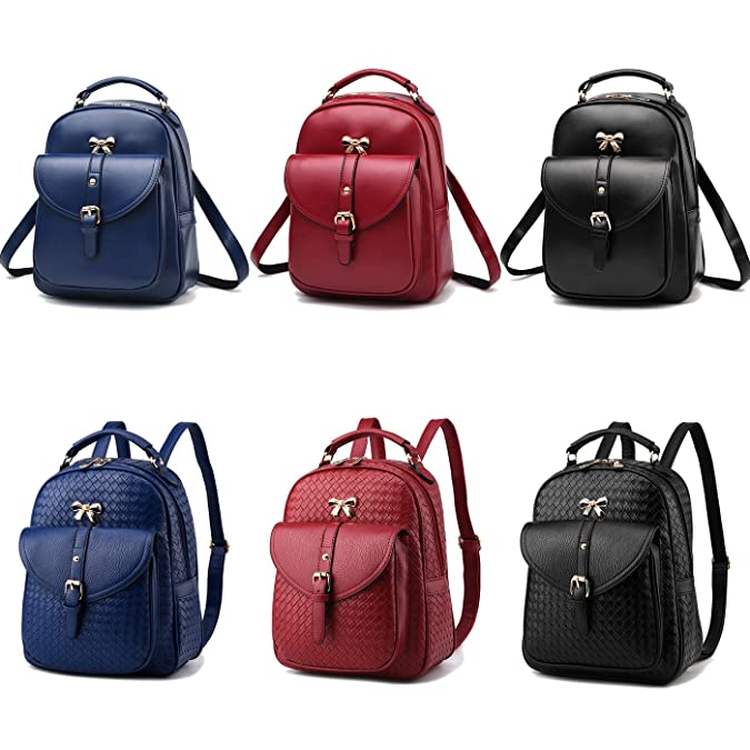 Amazon.com: Ladys Mini Backpack Coolives fashion PU leather girls backpack.for school travel: Shoes